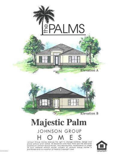 Venetian Bay Single Family Home For Sale: 3067 Borassus Dr Lot 16