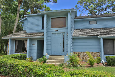 Daytona Beach Condo/Townhouse For Sale: 161 Blue Heron Drive #C