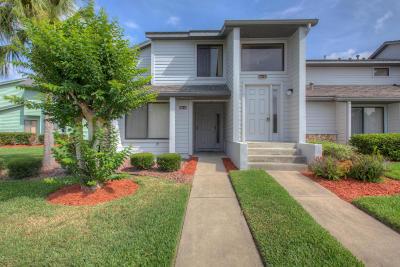 Daytona Beach Condo/Townhouse For Sale: 141 Blue Heron Drive #A