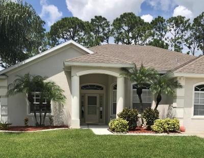 Port Orange Single Family Home For Sale: 5494 Carmody Lake Drive
