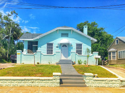 Volusia County Multi Family Home For Sale: 221 N Hollywood Avenue