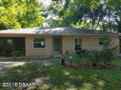 Ormond Beach Single Family Home For Sale: 599 S Center Street