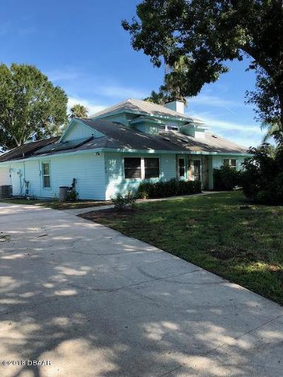 Port Orange Single Family Home For Sale: 723 E Pine Forest Trail