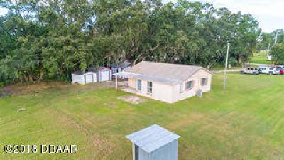 New Smyrna Beach Single Family Home For Sale: 420 N Samsula Drive