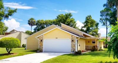 Daytona Beach Single Family Home For Sale: 163 S Gull Drive
