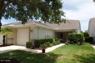 Port Orange Single Family Home For Sale: 1410 Coconut Palm Circle