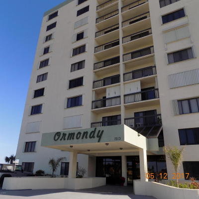 Ormond Beach Condo/Townhouse For Sale: 1513 Ocean Shore Boulevard #E-8