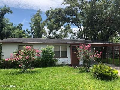 Daytona Beach Single Family Home For Sale: 461 Brentwood Drive
