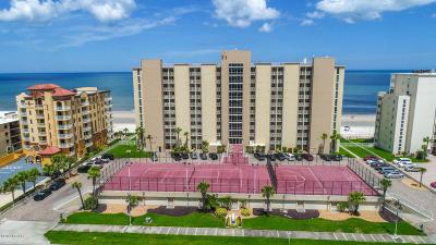 Daytona Beach Shores Condo/Townhouse For Sale: 3815 S Atlantic Avenue #906