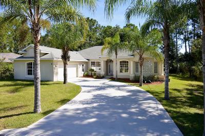 Palm Coast Single Family Home For Sale: 9 Pine Cedar Drive