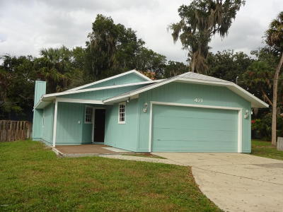 Ormond Beach Single Family Home For Sale: 471 Hammock Lane