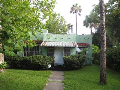 Daytona Beach Single Family Home For Sale: 322 Taylor Avenue