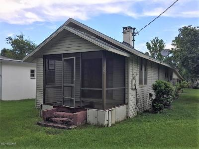 Volusia County Single Family Home For Sale: 639 Bay Avenue