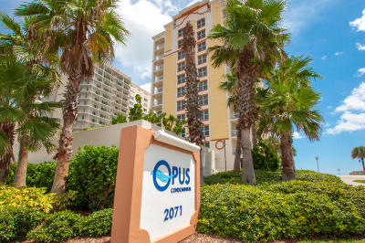 Daytona Beach Shores Condo/Townhouse For Sale: 2071 S Atlantic Avenue #102