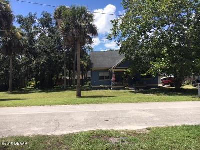 New Smyrna Beach Single Family Home For Sale: 817 Craig Street