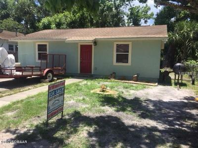 Daytona Beach Single Family Home For Sale: 352 Fulton Street