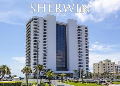 Daytona Beach Shores Condo/Townhouse For Sale: 2555 S Atlantic Avenue #107