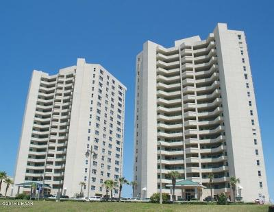 Daytona Beach Condo/Townhouse For Sale: 3315 S Atlantic Avenue #1705
