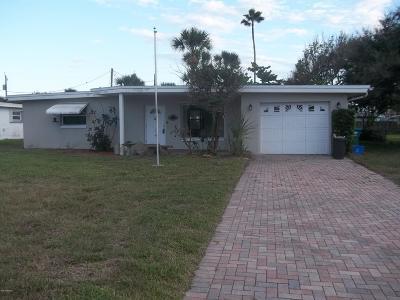 Daytona Beach Shores Single Family Home For Sale: 112 White Cap Avenue