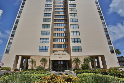 Volusia County Condo/Townhouse For Sale: 3051 S Atlantic Avenue #B010