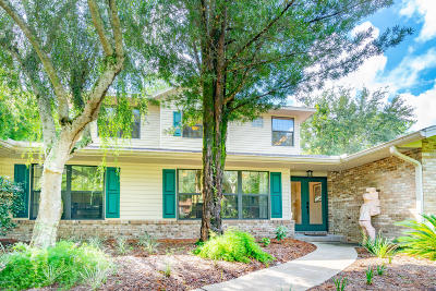 Deland Single Family Home For Sale: 1320 Trail By The Lake