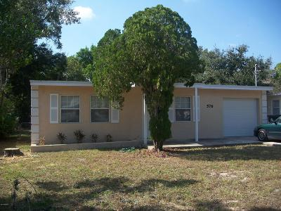 Daytona Beach Single Family Home For Sale: 576 Berkshire Road