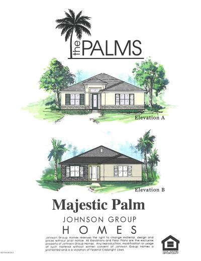 Venetian Bay Single Family Home For Sale: 255 Venetian Palms Blvd Lot 67