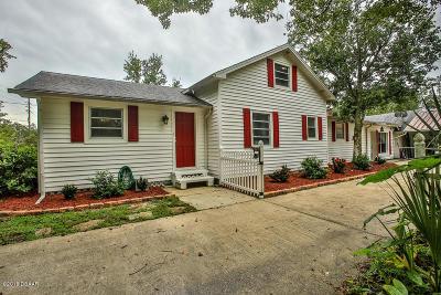 New Smyrna Beach Single Family Home For Sale: 278 N Samsula Drive
