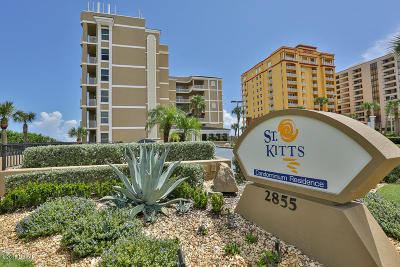 Daytona Beach Shores Condo/Townhouse For Sale: 2855 S Atlantic Avenue #302
