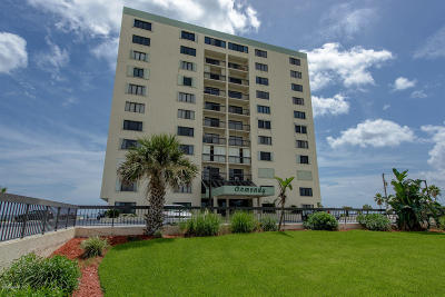 Volusia County Condo/Townhouse For Sale: 1513 Ocean Shore Boulevard #8B