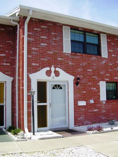South Daytona Condo/Townhouse For Sale: 2250 S Palmetto Avenue #bldg I #