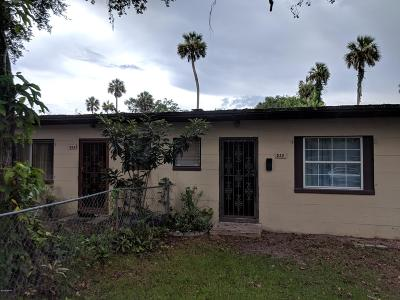 Volusia County Multi Family Home For Sale: 532 Park Drive