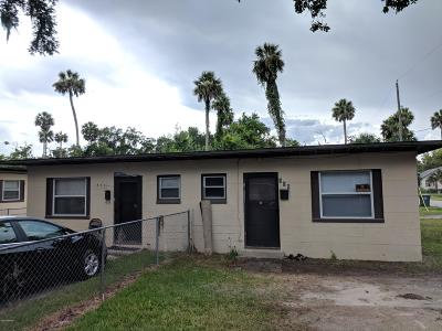Volusia County Multi Family Home For Sale: 536 Park Drive