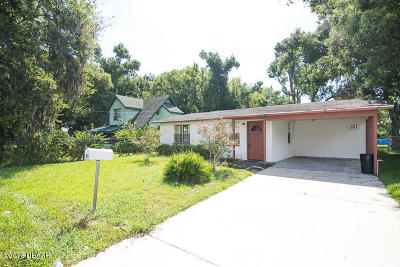 Volusia County Single Family Home For Sale: 461 Brentwood Drive