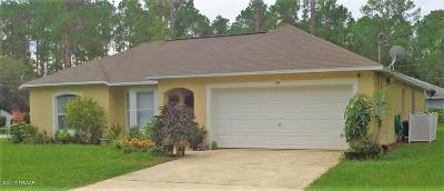 Palm Coast FL Single Family Home For Sale: $204,500