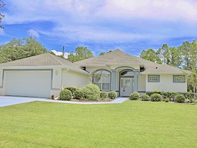 Palm Coast FL Single Family Home For Sale: $213,900