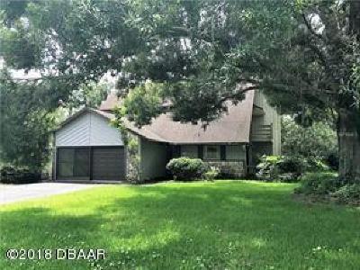 Daytona Beach Single Family Home For Sale: 100 Longspur Court