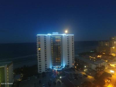 Daytona Beach Shores Condo/Townhouse For Sale: 2425 S Atlantic Avenue #1804