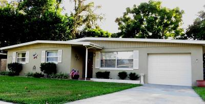 South Daytona Single Family Home For Sale: 2186 Robinhood Trail