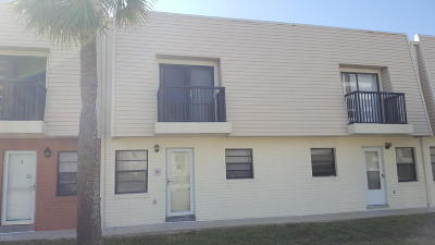 Daytona Beach Shores Condo/Townhouse For Sale: 3750 S Atlantic Avenue #8