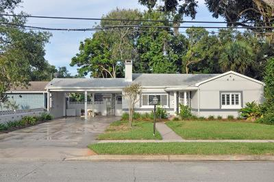 New Smyrna Beach Single Family Home For Sale: 1206 Magnolia Street