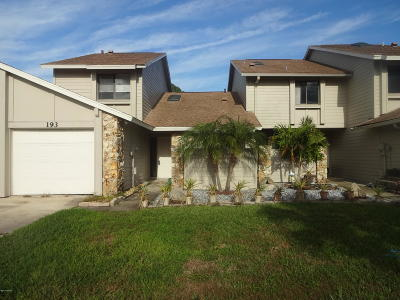 Volusia County Attached For Sale: 193 Surf Scooter Drive