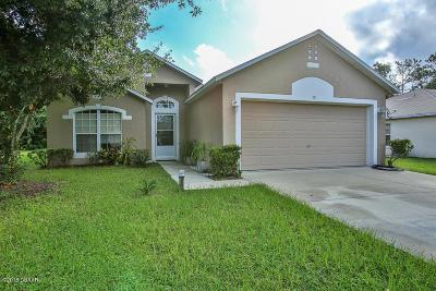 Palm Coast Single Family Home For Sale: 15 Plainview Drive