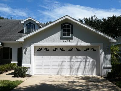 Volusia County Attached For Sale: 1138 Athlone Way