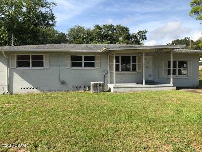 Volusia County Single Family Home For Sale: 2268 Garfield Drive
