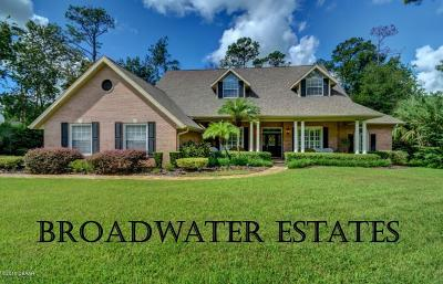 Ormond Beach Single Family Home For Sale: 12 Broadwater Drive