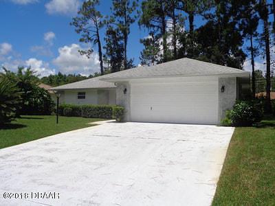 Palm Coast FL Single Family Home For Sale: $198,000