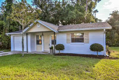 Port Orange Single Family Home For Sale: 5103 Taylor Avenue