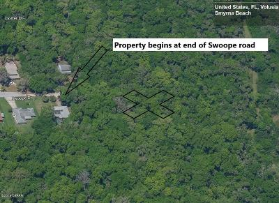 Volusia County Residential Lots & Land For Sale: Swoope Drive