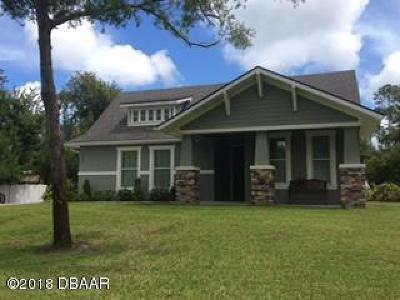 New Smyrna Beach Single Family Home For Sale: 997 Sugar Mill Drive